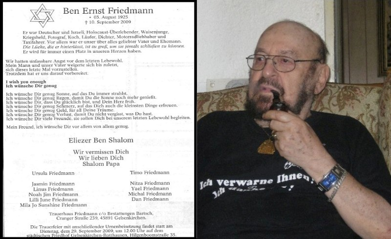 Ben Ernst Friedmann im August 2009